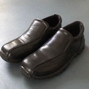 Black Boy Dress Shoes. Size 3 1/2